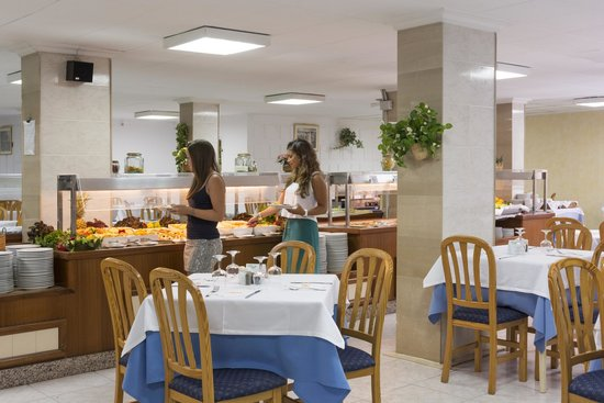 Hotel HSM Reina Isabel: HSM Reina Isabel dining room