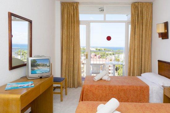 Hotel HSM Reina Isabel: Lovely room at HSM Reina Isabel