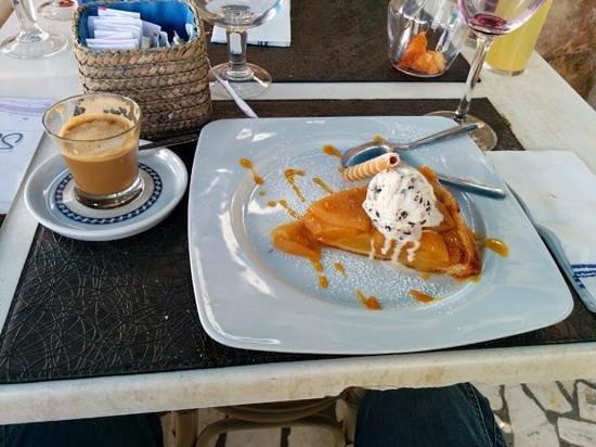 LA VACA AZUL: homemade apple tart