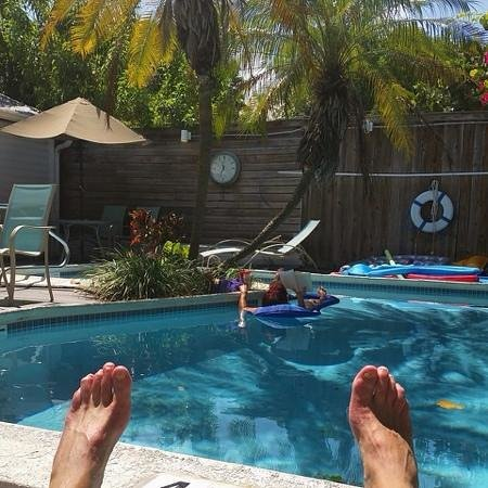 Marrero's Guest Mansion: The pool at Marrero's