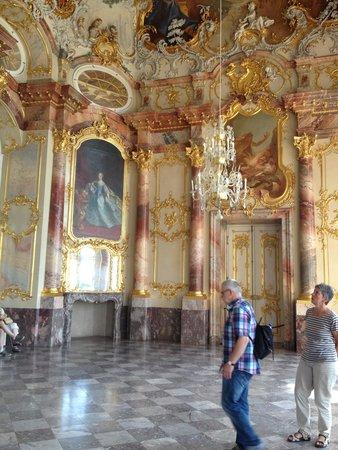 Schloss Bruchsal: Inside the grand ballroom