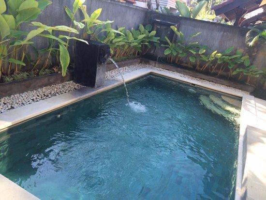 The Club Villas: private pool
