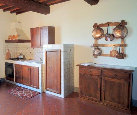 Agriturismo Tenuta Cantagallo: Rosmarino bilocale/two roomed apartment