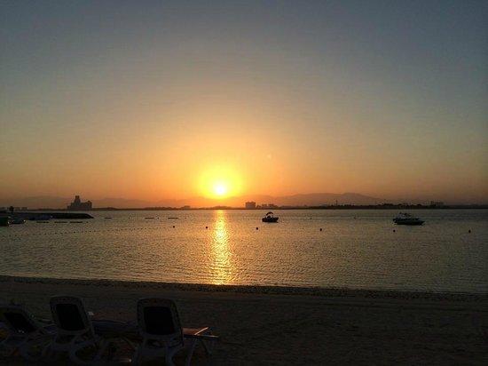 DoubleTree by Hilton Resort & Spa Marjan Island: beautiful sunrise