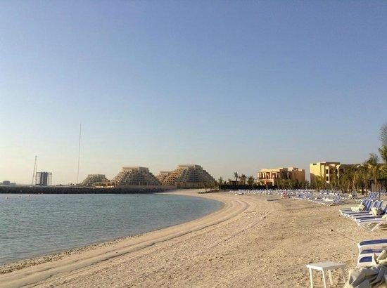 DoubleTree by Hilton Resort & Spa Marjan Island: private beach