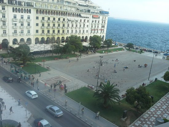 Electra Palace Thessaloniki: view from balcony