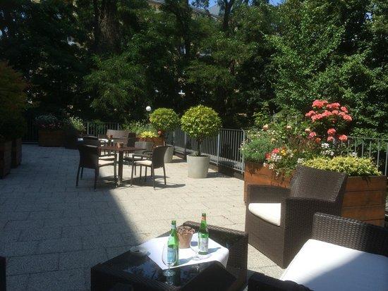 Hotel Michaelis: Innenhof