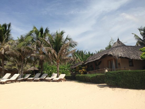 Mia Resort Mui Ne: Beachfront bungalows