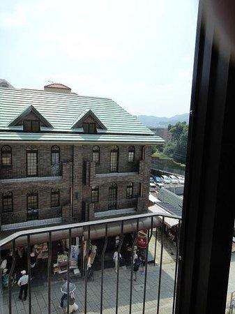 Crowne Plaza ANA Nagasaki Gloverhill : 部屋からの景色