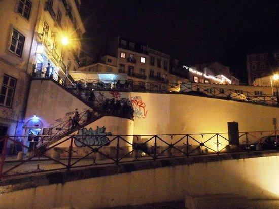Stepways.. at Night at Bairro Alto