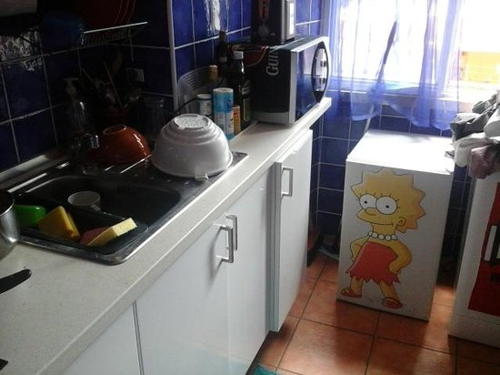 Comics guesthouse: cozinha