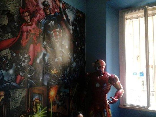 Comics guesthouse : sala