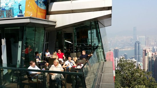 Peak Tram: Cafe with a view