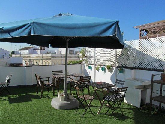 The Boutike Hostel : Терраса на крыше