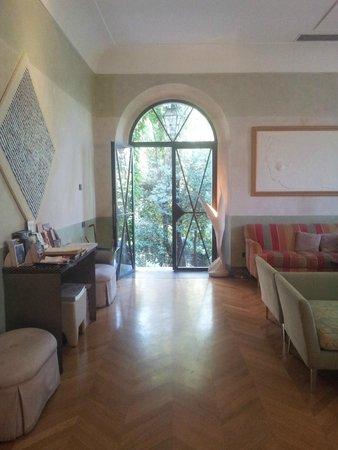 Villa Mangili : Reception area