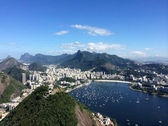 Pain de Sucre : Vista do Rio