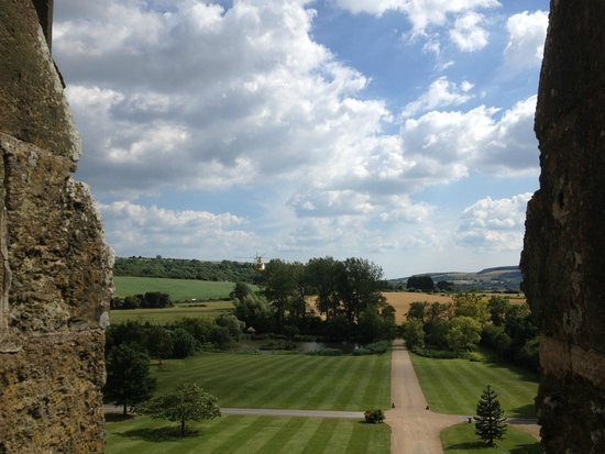 Amberley Castle: View from ramparts