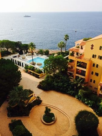 Columbus Monte-Carlo : View from our room