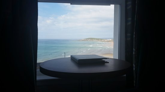 Fistral Beach Hotel and Spa : the view form our room
