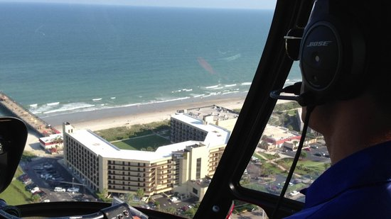 DoubleTree Resort by Hilton Myrtle Beach Oceanfront : View from helicopter ride