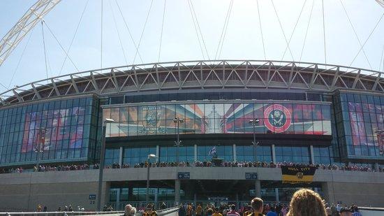 Wembley Stadium: Wembley!