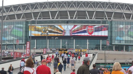 Wembley Stadium : <3
