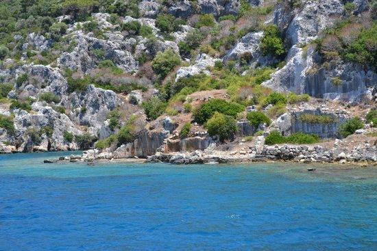 Kas Daily Boat Tours with Bermuda : Kekova
