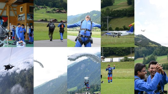 Skydive Switzerland - Scenic Air AG : Amazing Experience