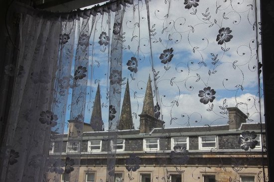 Ritz Edinburgh: Spires of St Mary's Cathedral from my room