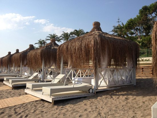SENTIDO Perissia: Strandhäuschen