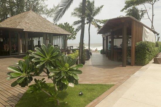 Layana Resort and Spa : ontbijt en dinerlocatie alsmede bar