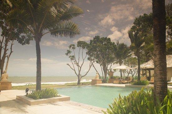 Layana Resort and Spa: Uitzicht vanuit Zwembad