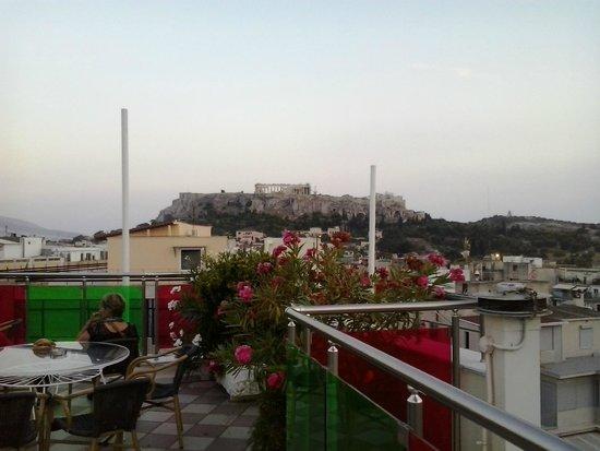 Attalos Hotel: terrazzo panoramico