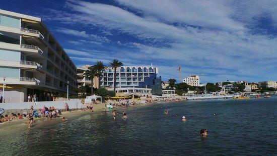 Garden Beach Hotel: L'hotel sulla spiaggia