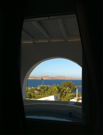 Apsenti Couples Only - Mykonos: VIEW FROM THE DELOS QUEEN WITH THE JACUZZI