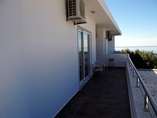 Hotel Porto Belissario : terrasse