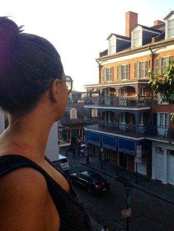 Hotel Mazarin : Balcony