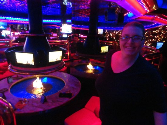The Peppermill Restaurant & Fireside Lounge: me and the firepit