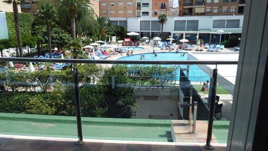 Hotel Anabel: vue sur piscine