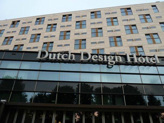 Dutch Design Hotel Artemis: Frontansicht!