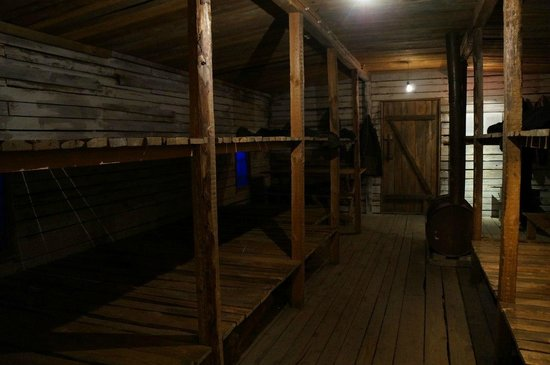 The Museum of the Occupation of Latvia: Импровизированный барак