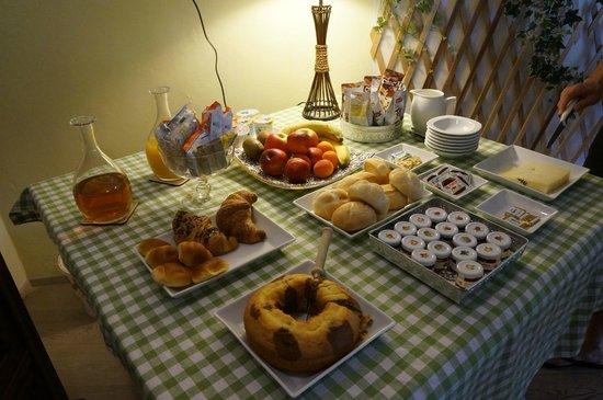 Palazzo Gelmi B & B: Breakfast