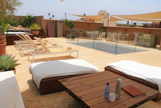 Riad Houma : Terrace view