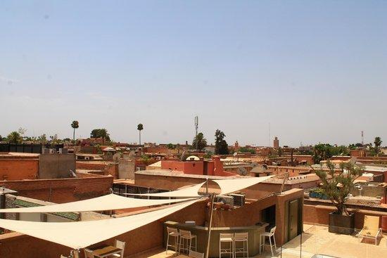 Riad Houma : View from terrace