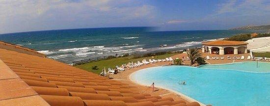 La Plage Noire Hotel & Resort : Vista dalla camera