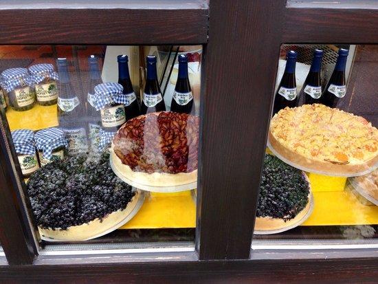 Cafe Konditorei Bachbeck: Die Torten