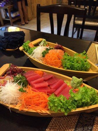 Ageha Sushi: Sashimi