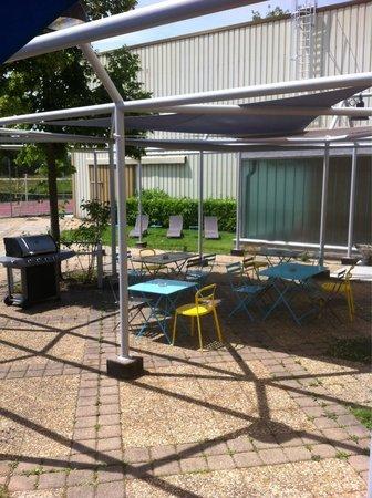 L'entre-courts: Petite partie de terrasse
