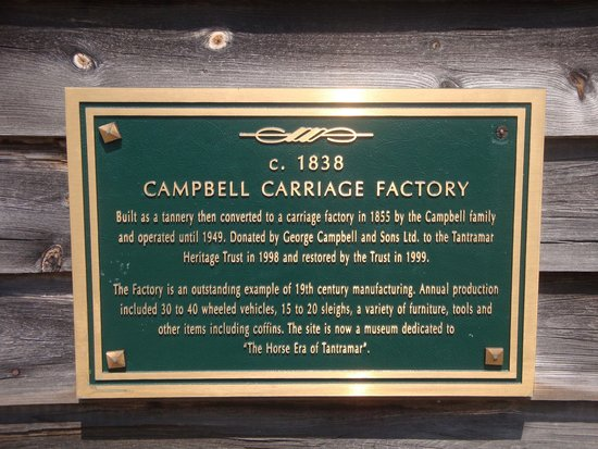 Campbell Carriage Factory Museum: Campbell Carriage Factory history