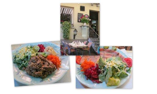 Restaurant Jagerheim: Essen im Jägerheim